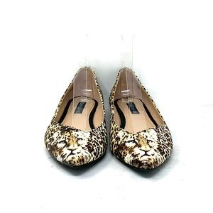 Izabella Rue Shoes - Izabella Rue Leopard Tiger Flats